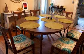 Pads For Dining Room Table Dining Room Beautiful Good Dining Chair Cushions With Round Wood