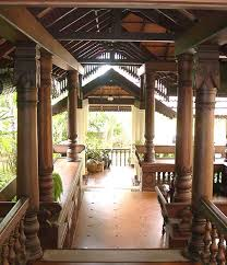 traditional kerala home interiors verandah located at the front of a traditional kerala house