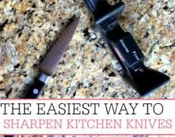 best way to sharpen kitchen knives simple tips archives frugally