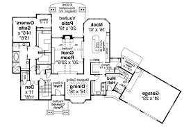 House Plans With Apartment Attached Home Plans With Attached Barn