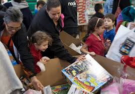 Kids Barnes And Noble Barnes U0026 Noble And Secaucus Municipal Center Make The Holidays