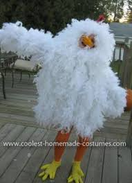 Halloween Chicken Costume Coolest Homemade Chicken Costume Chicken Costumes Costumes