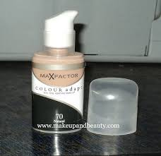 maxfactor colour adapt foundation