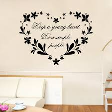 wall stickers black 42 x 57 cm dsu keep a young heat background dsu keep a young heat background wall sticker removable home decor