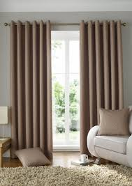 furniture home solitaire eyelet latte brown curtains for living