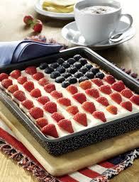Dessert Flags Flag Cake Usa Flaggenkuchen Usa Kulinarisch