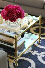 gold glass coffee table mint love social club gold glass coffee table interior inspo