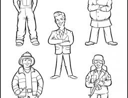 construction worker coloring page retrocoloring