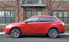 red mitsubishi outlander capsule review 2015 mitsubishi outlander 3 0 gt s awc the truth
