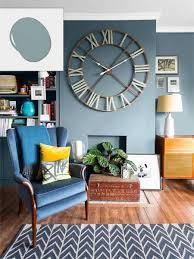 best blue living room walls for your home interior redesign with