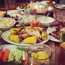 happy thanksgiving dinner with friends the official page of