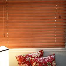 Mahogany Faux Wood Blinds Premium 2