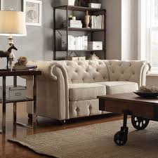 decor side table and table lamp with chesterfield loveseat also