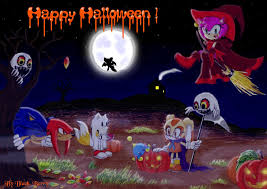 happy halloween by sonic and c by blackby on deviantart