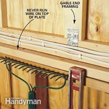 how to wire a garage unfinished electrical diy pinterest