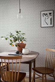 Wallpaper Designs For Dining Room by Best 25 Neutral Wallpaper Ideas On Pinterest Powder Room