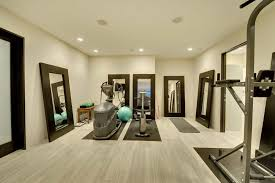 home gym with floor mirrors create your own home gym