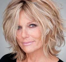 shag hairstyles women over 40 30 hairstyles for over 50 pinteres