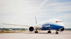 s 112 000 square foot paint hangar at portland international airport considered a midsize airplane the 787 operates on 20 percent less fuel than