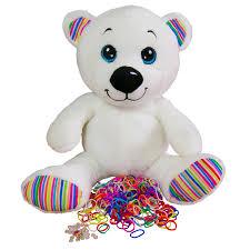loomi bear for rainbow loom bracelets rainbow bear with limited