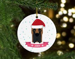 great dane ornament etsy