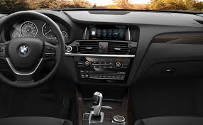 the bmw x3 interior with fineline anthracite wood trim the