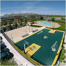 Backyard Sports Court by Backyards Winsome Backyard Volleyball Court Simple Backyard
