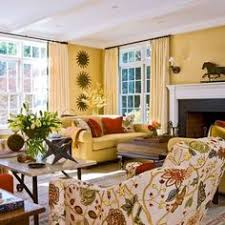 I Like This Red And Yellow Color For The Home Pinterest - Colorful living room sets
