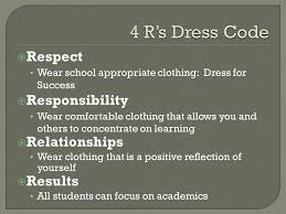 Comfortable Dress Code Dress Code Expectations Ppt Download