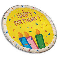 birthday cookie cake cookie cakes chocolate chip cookie cake cookies by design