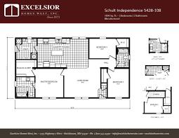 schult independence 5428 108 excelsior homes west inc manufactured