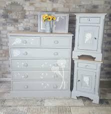 bedroom set painted in annie sloan paris grey check us on