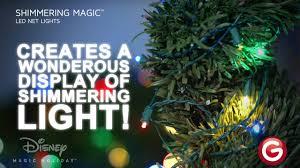 shimmering magic led net lights multicolor youtube