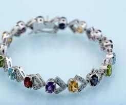 multi stone bracelet images Multistone bracelet om ganesh export jpg