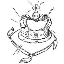 30 free printable crown coloring pages
