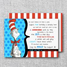 Twins 1st Birthday Invitation Cards Cat In The Hat Birthday Invitations Plumegiant Com