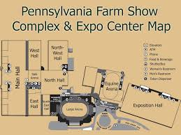 Map Of Harrisburg Pa Pennsylvania Farm Show Complex U0026 Expo Center Maplets
