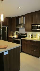 cuisine carré cuisine de style contemporain armoires en polyester shaker fermé