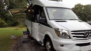 our first rv experience leisure travel vans