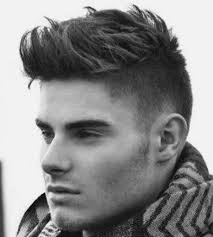 hairstyles short in back and long sides mens haircut short sides and back long top male hairstyles short