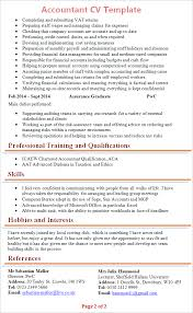 ms office cv format accountant cv template tips and download cv plaza