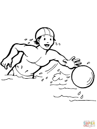 catching a ball coloring page free printable coloring pages