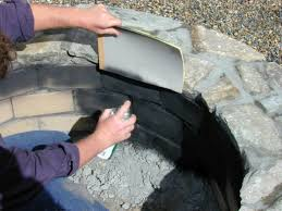 How To Build A Stone by Step Paint The Interior Brick How To Build A Stone Fire Pit Tos