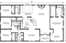 simple 4 bedroom house plans simple 4 bedroom house floor plans