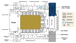 National Theatre Floor Plan by Memorial Auditorium
