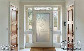 Exterior Doors Glass Glass Front Doors Sans Soucie Glass