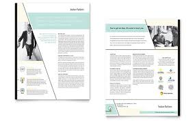 Sales Sheet Template Corporate Sales Sheet Templates Professional Services