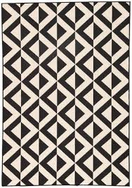 Checkered Area Rug Black And White Modern U0026 Unique Area Rugs Burke Decor