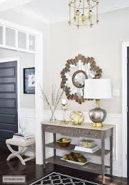 how to interior decorate your own home best 25 console table decor ideas on entrance decor