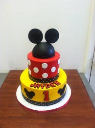 mickey mouse 1st birthday cake happy birthday accessories